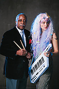 Mel Brown and Coco Columbia for Vortex Music Magazine