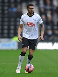 Cyrus Christie Derby County, Derby County v Reading, FA Cup 5th Round, The Ipro Stadium, Saturday 14th Febuary 2015