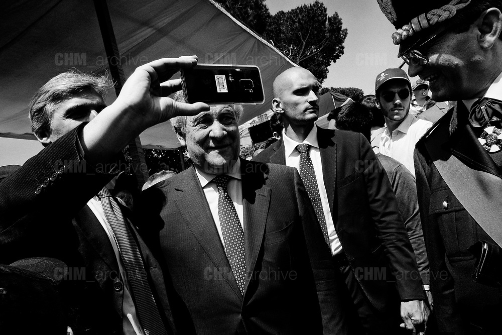 Antonio Tajani, Republic Day, ceremony to mark the anniversary of the Italian Republic on June 02, 2018 in Rome, Italy. Christian Mantuano / OneShot