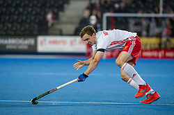England's Harry Martin. England v China - Hockey World League Semi Final, Lee Valley Hockey and Tennis Centre, London, United Kingdom on 15 June 2017. Photo: Simon Parker