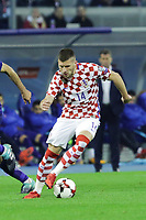 ZAGREB, CROATIA - NOVEMBER 09: Ante Rebic of Croatia controls the ball during the FIFA 2018 World Cup Qualifier play-off first leg match between Croatia and Greece at Maksimir Stadium on November 9, 2017 in Zagreb, Croatia. (Luka Stanzl/PIXSELL)