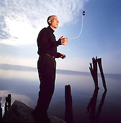 Seth Godin, photographed by Brian Smale, for Fast Company Magazine.