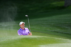 May 4, 2019 - Charlotte, NC, U.S. - CHARLOTTE, NC - MAY 04: Sergio Garcia lands a great ball on the 14th green in round three of the Wells Fargo Championship on May 04, 2019 at Quail Hollow Club in Charlotte,NC. (Photo by Dannie Walls/Icon Sportswire) (Credit Image: © Dannie Walls/Icon SMI via ZUMA Press)