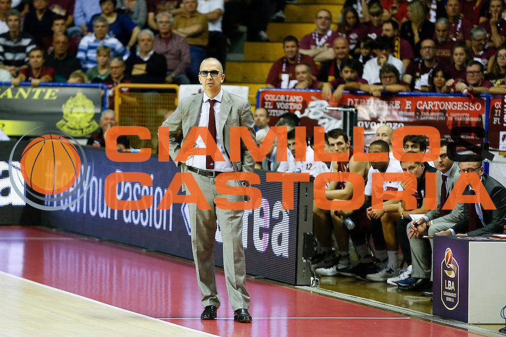 Walter De Raffaele<br /> Umana Reyer Venezia - Betaland Capo d'Orlando<br /> Lega Basket Serie A 2016/2017<br /> Venezia 09/10/2016<br /> Foto Ciamillo-Castoria