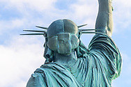 Back of Statue of Liberty National Monument, New York City, New  York, New Jersey