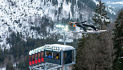 02.02.2019, Heini Klopfer Skiflugschanze, Oberstdorf, GER, FIS Weltcup Skiflug, Oberstdorf, Training, im Bild Ryoyu Kobayashi (JPN) // Ryoyu Kobayashi of Japan during his Practice Jump of FIS Ski Jumping World Cup at the Heini Klopfer Skiflugschanze in Oberstdorf, Germany on 2019/02/02. EXPA Pictures © 2019, PhotoCredit: EXPA/ Peter Rinderer