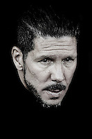 VALENCIA, SPAIN - OCTOBER 04:  (EDITOR'S NOTE: Image was processed using digital filters.)  Atletico de Madrid manager Diego Pablo Simeone looks on prior to the La Liga match between Valencia CF and Club Atletico de Madrid at Estadi de Mestalla on October 4, 2014 in Valencia, Spain.  (Photo by Manuel Queimadelos Alonso/Getty Images)