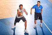 DESCRIZIONE : Bormio Raduno Collegiale Nazionale Maschile Preparazione Fisica <br /> GIOCATORE : Christian Di Giuliomaria Lorenzo Taliento <br /> SQUADRA : Nazionale Italia Uomini <br /> EVENTO : Raduno Collegiale Nazionale Maschile <br /> GARA : <br /> DATA : 24/07/2008 <br /> CATEGORIA : Allenamento <br /> SPORT : Pallacanestro <br /> AUTORE : Agenzia Ciamillo-Castoria/S.Silvestri <br /> Galleria : Fip Nazionali 2008 <br /> Fotonotizia : Bormio Raduno Collegiale Nazionale Maschile Preparazione Fisica <br /> Predefinita :