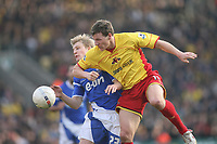 Photo: Marc Atkins.<br /> Watford v Ipswich Town. The FA Cup. 17/02/2007.