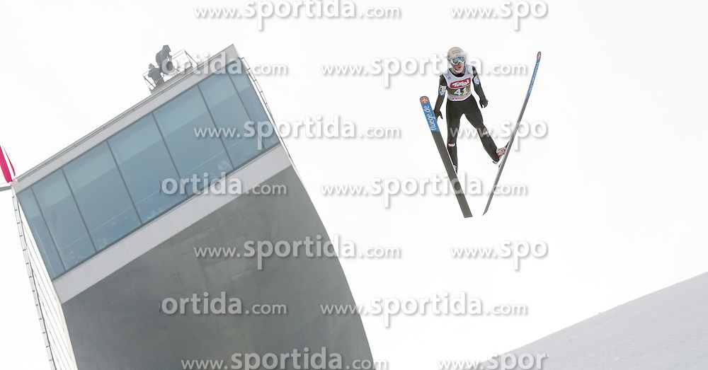 03.01.2015, Bergisel Schanze, Innsbruck, AUT, FIS Ski Sprung Weltcup, 63. Vierschanzentournee, Innsbruck, Training, im Bild Thomas Diethart (AUT) //Thomas Diethard of Austria soars through the air during a training session for the 63rd Four Hills Tournament of FIS Ski Jumping World Cup at the Bergisel Schanze in Innsbruck, Austria on 2015/01/03. EXPA Pictures © 2015, PhotoCredit: EXPA/ Jakob Gruber