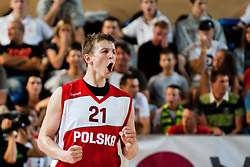 Adam Waczynski of Poland at exhibition game between Slovenia and Poland for Primus Trophy 2011Lithuania as part of exhibition games before European Championship L2011on July 23, 2011, in Ljudski Vrt, Ptuj, Slovenia. (Photo by Matic Klansek Velej / Sportida)