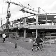 NLD/Huizen/19930112 - Winkelcentrum Huizen bouw 01-93