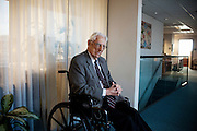 Dr. Howard Jones, 99, at The Jones Institute in Norfolk, Virginia on Sunday,  February 7, 2010. Dr. Jones and his late wife Dr. Georgeanna Seegar Jones, helped to create the first test-tube baby born in America.