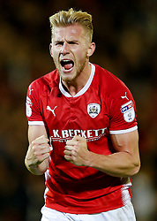 Barnsley's Jason McCarthy celebrates at full time - Mandatory by-line: Matt McNulty/JMP - 15/08/2017 - FOOTBALL - Oakwell Stadium - Barnsley, England - Barnsley v Nottingham Forest - SkyBet Championship