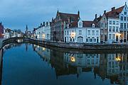 Dawn in Brugges, Belgium