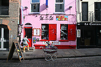 Vintage fashion shop in Temple Bar Dublin Ireland