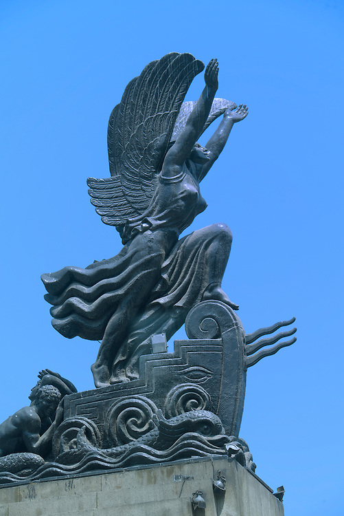 South America, Peru, Lima,Monument