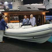 Hundreds of boats exhibition at the London Boat Show Preview 2017 at Excel London,UK. Photo by See Li/Picture Capital