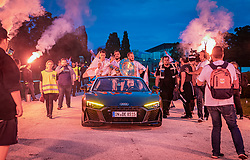 26.05.2019, Schloss Klessheim, Salzburg, AUT, 1. FBL, FC Red Bull Salzburg Meisterfeier, im Bild Autocorso // during the Austrian Football Bundesliga Championsship Celebration at the Schloss Klessheim in Salzburg, Austria on 2019/05/26. EXPA Pictures © 2019, PhotoCredit: EXPA/ JFK