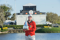 Arnold Palmer Invitational Champion 2017 Marc Leishman after the Final Round of the The Arnold Palmer Invitational Championship 2017, Bay Hill, Orlando,  Florida, USA. 19/03/2017.<br /> Picture: PLPA/ Mark Davison<br /> <br /> <br /> All photo usage must carry mandatory copyright credit (&copy; PLPA | Mark Davison)
