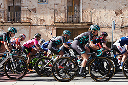 Cecilie Uttrup Ludwig (DEN), and Maria Vittoria Sperotto (ITA) in the bunch at Setmana Ciclista Valenciana 2019 - Stage 2, a 100 km road race from Borriol to Vila-Real, Spain on February 22, 2019. Photo by Sean Robinson/velofocus.com