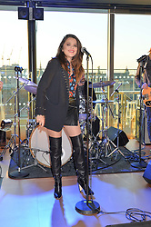 Singer SKY FERREIRA at the launch of Illicit by Jimmy Choo - a new fragrance faced by Sky Ferreira, held at Mondrian London, 20 Upper Ground, London on 3rd June 2015.