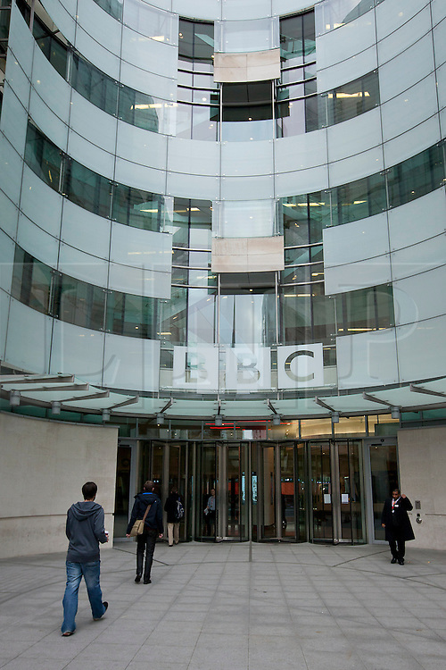 © Licensed to London News Pictures. 12/11/2012. London, UK. General view of Broadcasting House in London today (12/11/12). Photo credit: Matt Cetti-Roberts/LNP