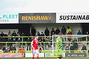 Renishaw Ad boars during the EFL Sky Bet League 2 match between Forest Green Rovers and Walsall at the New Lawn, Forest Green, United Kingdom on 8 February 2020.