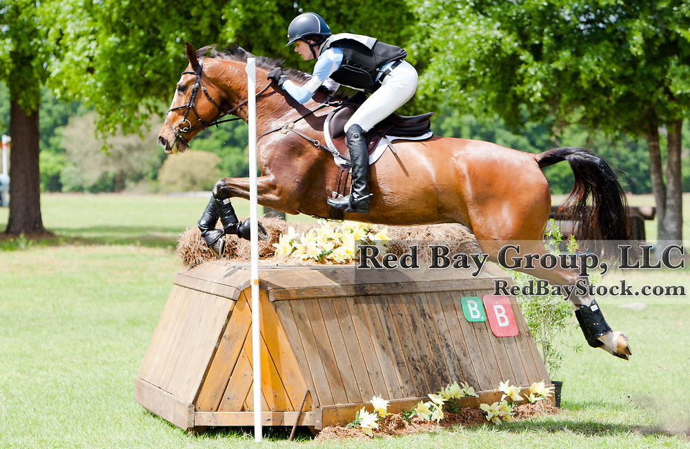 Julie Richards (USA) and Fernhill Splash at the 2014 Ocala Horse Properties International 3-Day Event in Ocala, Florida.