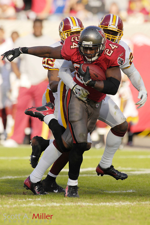Nov. 19, 2006; Tampa, FL, USA; Tampa Bay Buccaneers running back (24) Carnell Williams in action during the Bucs game against the Washington Redskins at Raymond James Stadium. ...©2006 Scott A. Miller
