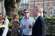 GARY WEBB, Tate Britain Summer Party 2009. Millbank. London. 29 June 2009