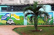Mural in Artemisa, Cuba.