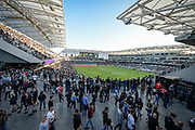 General view of he Banc of California Stadium during a MLS soccer match between New York City and Los Angeles FC inLos Angeles, Sunday, May 13, 2018. (Ed Ruvalcaba/Image of Sport)