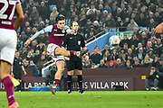 Aston Villa midfielder Jack Grealish (10) scores a goal from open play 1-0 during the EFL Sky Bet Championship match between Aston Villa and Cardiff City at Villa Park, Birmingham, England on 10 April 2018. Picture by Dennis Goodwin.