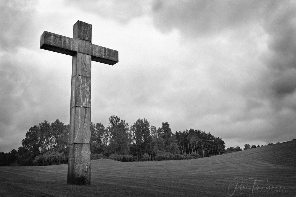 The Cross at Skogskyrkogården (Woodland Cemetery).