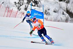 Downhill, FITZPATRICK Menna Guide: KEHOE Jennifer, B2, GBR at the WPAS_2019 Alpine Skiing World Championships, Kranjska Gora, Slovenia