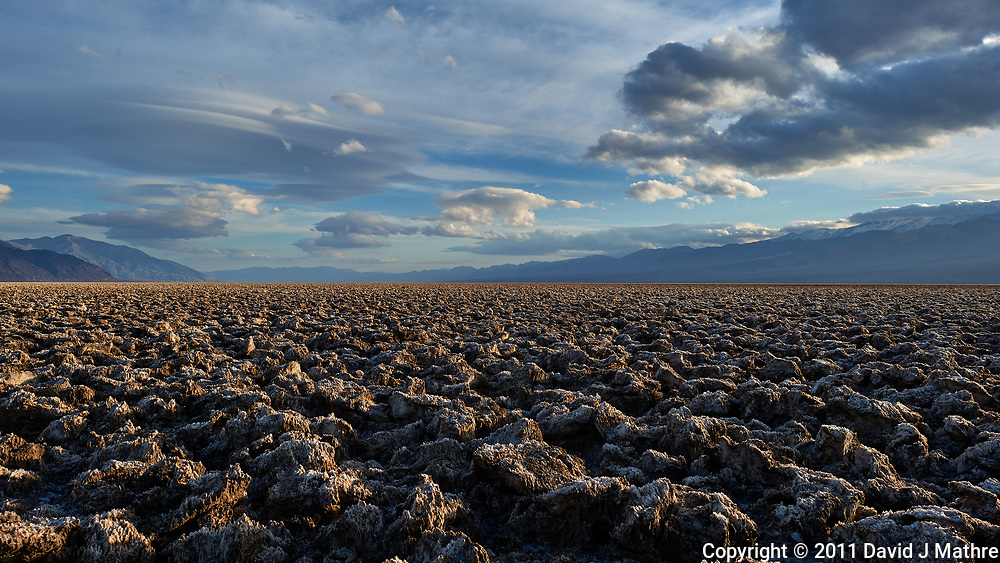 Devils Golf Course. Death Valley National Park. Image taken with a Nikon D3x camera and 24 mm f/1.4 lens (ISO 200, 24 mm, f/8, 1/320 sec).