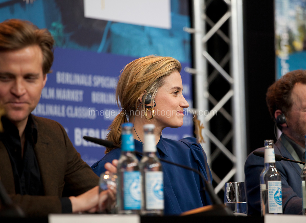 at the press conference for the film Out Stealing Horses (Ut Og Stjæle Hester) at the 69th Berlinale International Film Festival, on Saturday 9th February 2019, Hotel Grand Hyatt, Berlin, Germany.