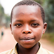 A young boy in Rulindo District, Rwanda.