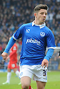 Academy player Conor Chaplin makes his first professional start during the Sky Bet League 2 match between Portsmouth and York City at Fratton Park, Portsmouth, England on 2 May 2015. Photo by Michael Hulf.