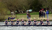Photo. © Peter Spurrier/intersport Images.21/03/2004  - Henley Races [Women's and lightweight Races].Oxford's women's Blue boat  move towards the finish after opening up a lead ove the Cambridge crew.[Mandatory Credit Peter Spurrier/ Intersport Images] . [Mandatory Credit: Peter Spurrier: Intersport Images].