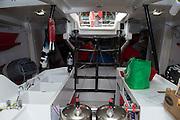 Steinlager 2 interior. ANZ Sail Fiji Race start. 7/6/2014
