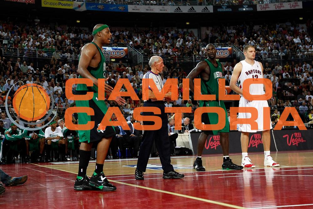 DESCRIZIONE : Roma Nba Europe Live Tour 2007 Toronto Raptors Boston Celtics <br /> GIOCATORE : Paul Pierce<br /> SQUADRA : Boston Celtics<br /> EVENTO : Nba Europe Live Tour 2007<br /> GARA : Toronto Raptors Boston Celtics<br /> DATA : 06/10/2007<br /> CATEGORIA : Delusione<br /> SPORT : Pallacanestro<br /> AUTORE : Agenzia Ciamillo-Castoria/G.Cottini