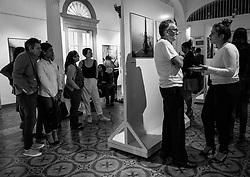 Inauguracion Cruz-Diez BN Alianza Francesa