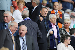 Middlesbrough's manager Tony Mowbray in the stands at Prenton Park  - Photo mandatory by-line: Joe Dent/JMP - Tel: Mobile: 07966 386802 24/08/2013 - SPORT - FOOTBALL - Prenton Park - Birkenhead -  Tranmere Rovers V Peterborough United - Sky Bet League One