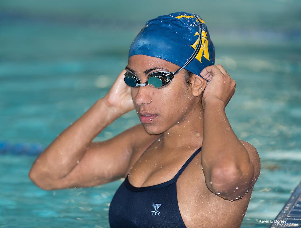 2015-16 A&T Swimming vs VMICharise & Khaled Engagement