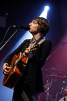 Eric Hutchinson performing at The Highline Ballroom on June 26, 2012