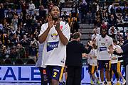 DESCRIZIONE : Beko Legabasket Serie A 2015- 2016 Dinamo Banco di Sardegna Sassari - Manital Auxilium Torino<br /> GIOCATORE : Jerome Dyson<br /> CATEGORIA : Before Pregame Curiosità<br /> SQUADRA : Manital Auxilium Torino<br /> EVENTO : Beko Legabasket Serie A 2015-2016<br /> GARA : Dinamo Banco di Sardegna Sassari - Manital Auxilium Torino<br /> DATA : 10/04/2016<br /> SPORT : Pallacanestro <br /> AUTORE : Agenzia Ciamillo-Castoria/L.Canu