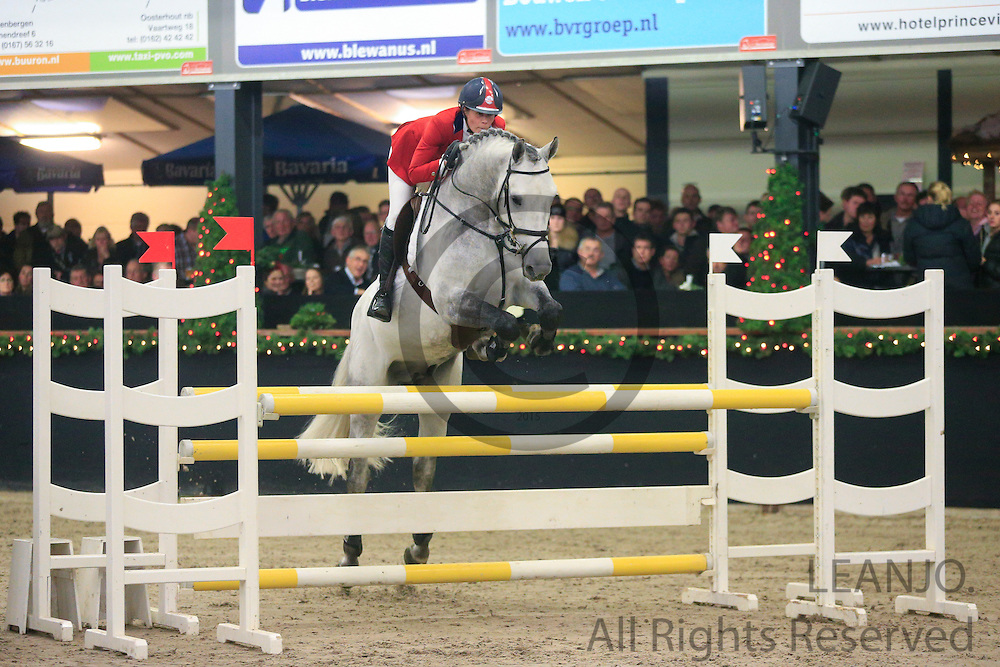 Sacha Dito - JK Horsetrucks Carthalvin Z<br /> KNHS/KWPN GMB Hengstencompetitie Roosendaal 2012<br /> © DigiShots