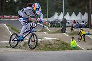 #88 (SAKAKIBARA Saya) AUS at Round 6 of the 2018 UCI BMX Superscross World Cup in Zolder, Belgium